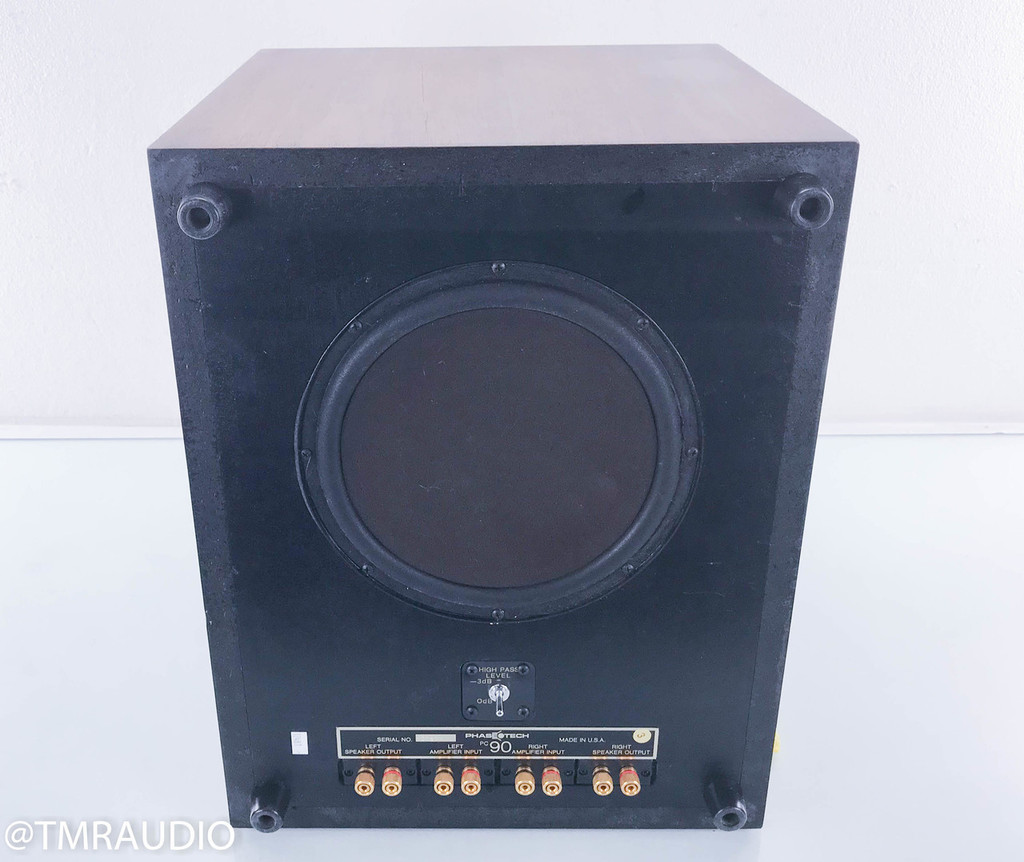 PhaseTech PC90 Passive Subwoofer (AS-IS; Torn surround)