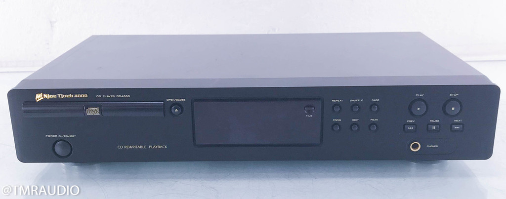 AH! Njoe Tjoeb 4000 CD Player; New Tube; Marantz (No Remote)