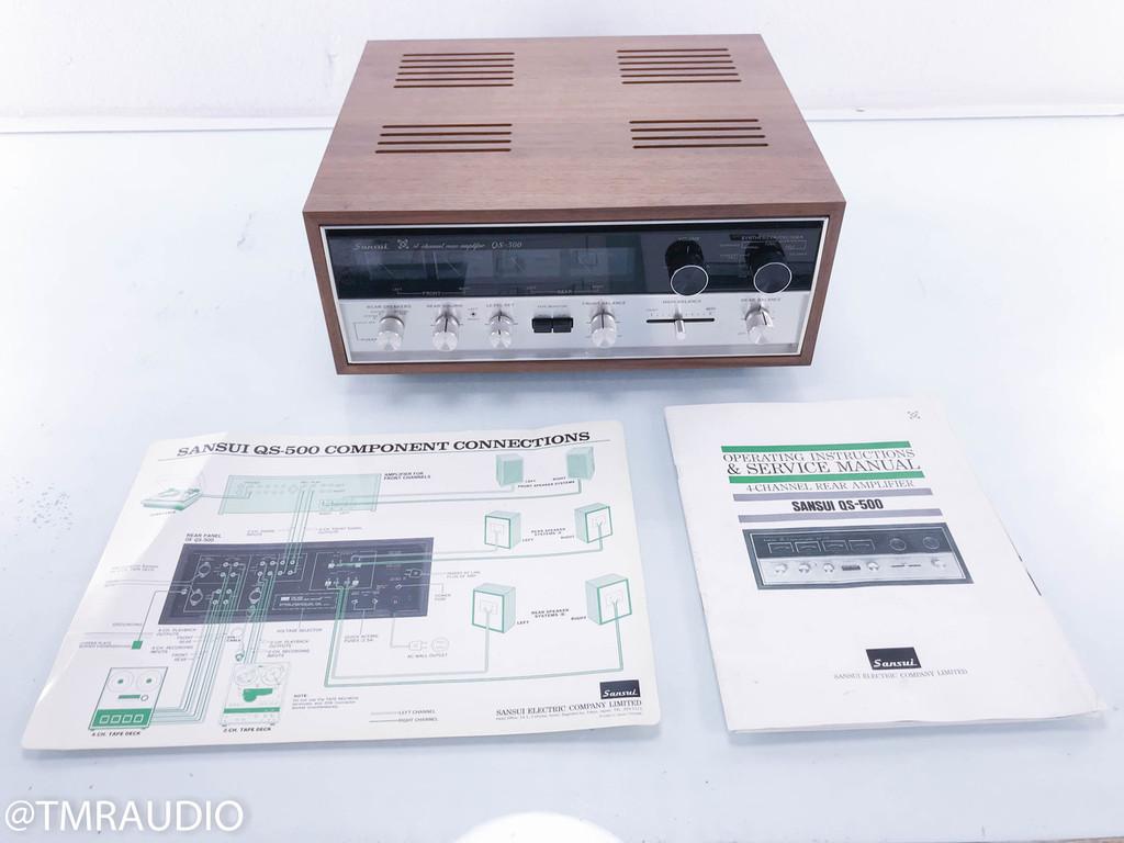 Sansui QS-500 4 Channel Integrated Amplifier; QS500 (NOS)