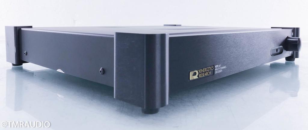 Kinergetics Research KSP-5.1 Digital Surround Sound Processor; AS-IS (no sound)