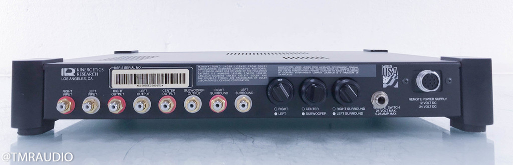 Kinergetics Research KSP-2; Surround Sound Processor (220V Power Supply)