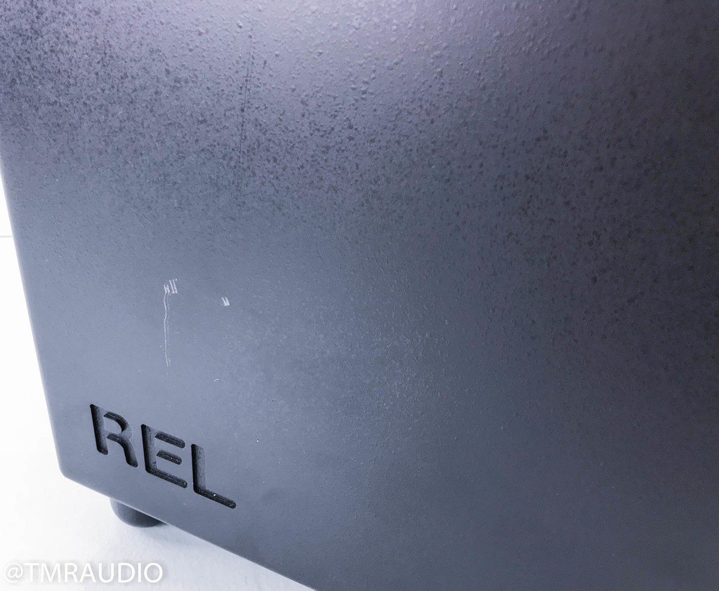 REL Strata II Powered Subwoofer; Black (AS-IS)