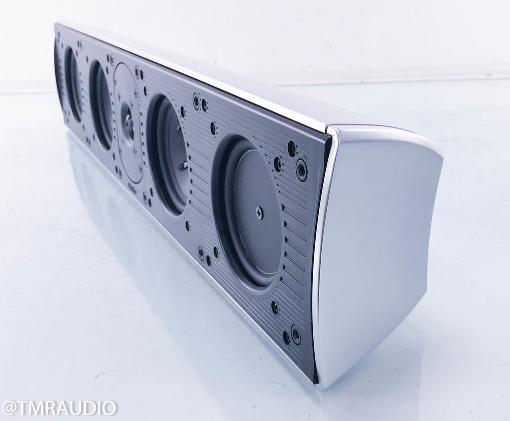 Definitive Technology Mythos Three Center Channel Speaker; 3; Silver w/ Wall Mount