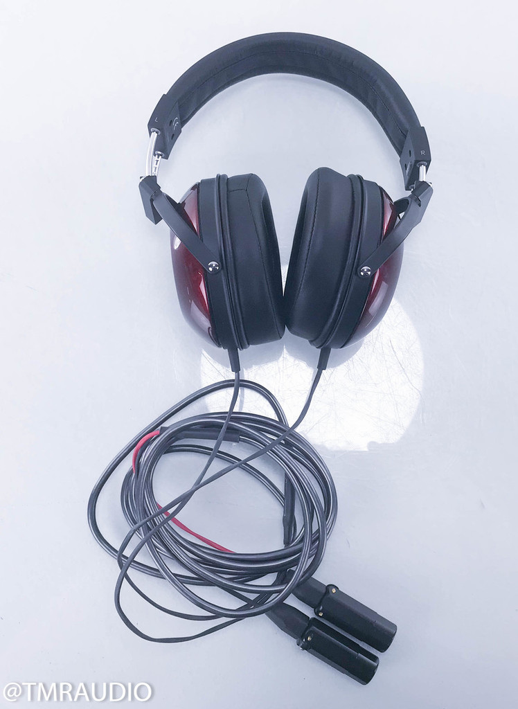 Fostex TH900 Headphones; w/ Upgraded Moon Audio Silver Dragon v2 Cable