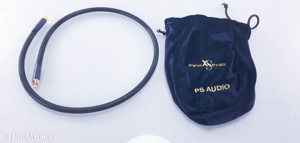 PS Audio XStream RCA Digital Coaxial Cable; Single 1m Interconnect