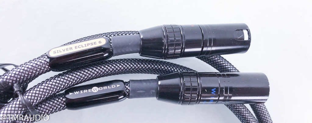 Wireworld Silver Eclipse 6 XLR Cables; 1m Pair Interconnects