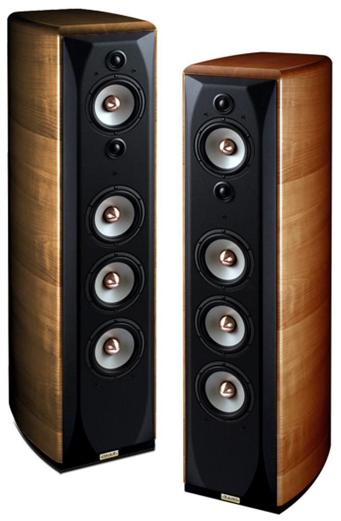 Opera Grand Callas Floorstanding Speakers; Cherry Pair (New Old Stock)