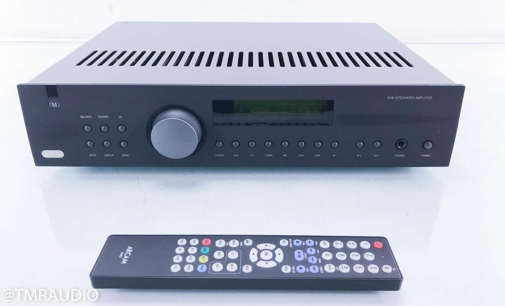 Arcam FMJ-A38 Integrated Amplifier; FMJA38; Black