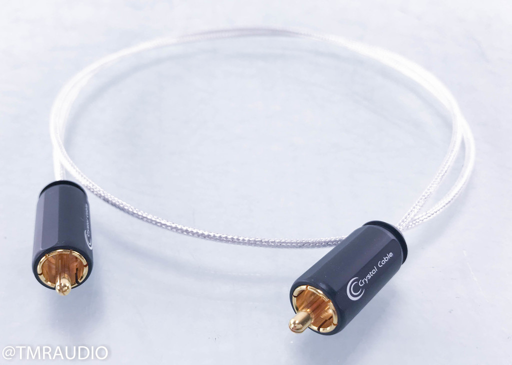 Crystal Cable Diamond Crystal Standard Digital Coaxial Cable; Single 0.8m Interconnect