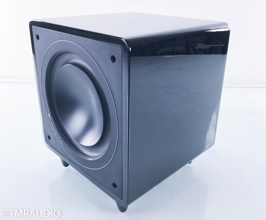 Cambridge Audio Minx X301 Powered Subwoofer; X-301; Black