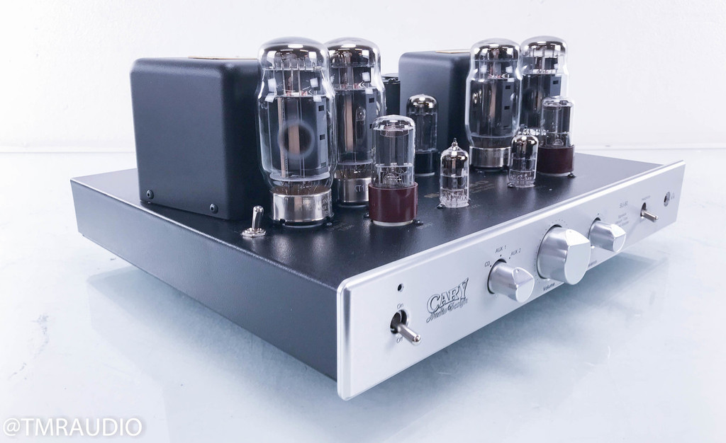 Cary SLI-80 Signature Stereo Integrated Tube Amplifier; Silver; Upgraded (No Remote)