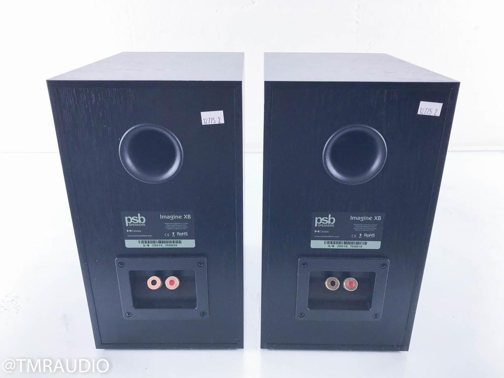 PSB Imagine XB Bookshelf Speakers; Black Ash Pair