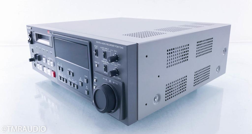 Sony PCM-7040 Digital Audio Recorder; DAT Player