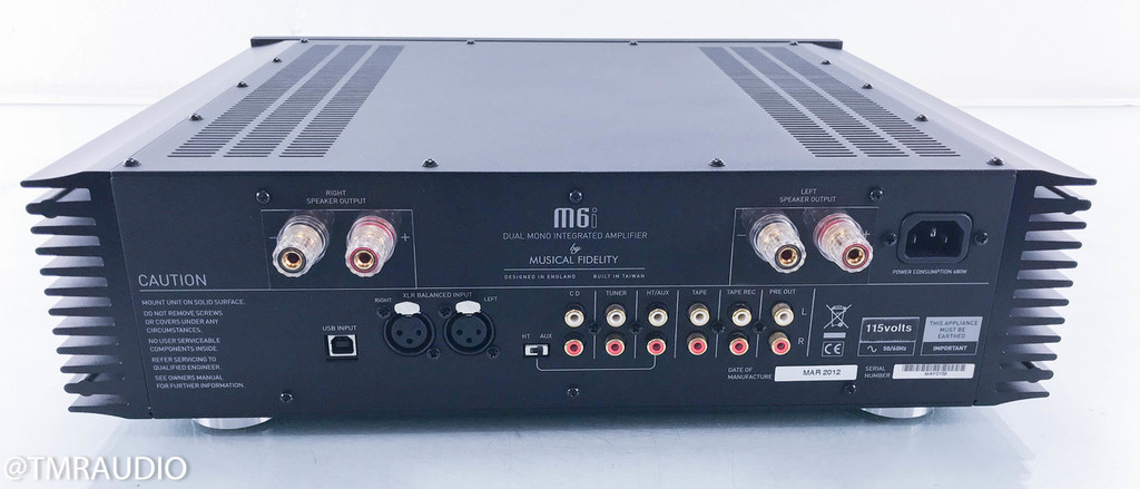 Musical Fidelity M6i Stereo Integrated Amplifier