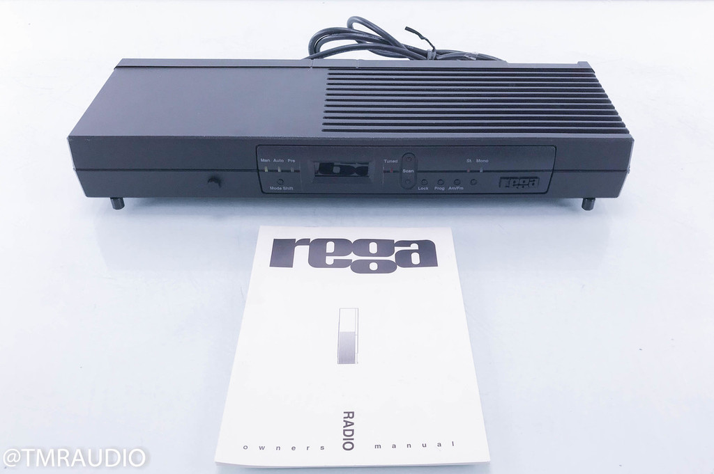 Rega Radio AM/FM Digital Tuner; AS-IS (Power button failure)