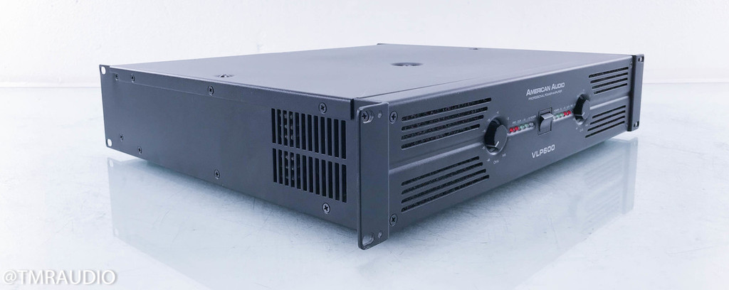 American Audio VLP600 2 Channel Professional Power Amplifier; VLP-600