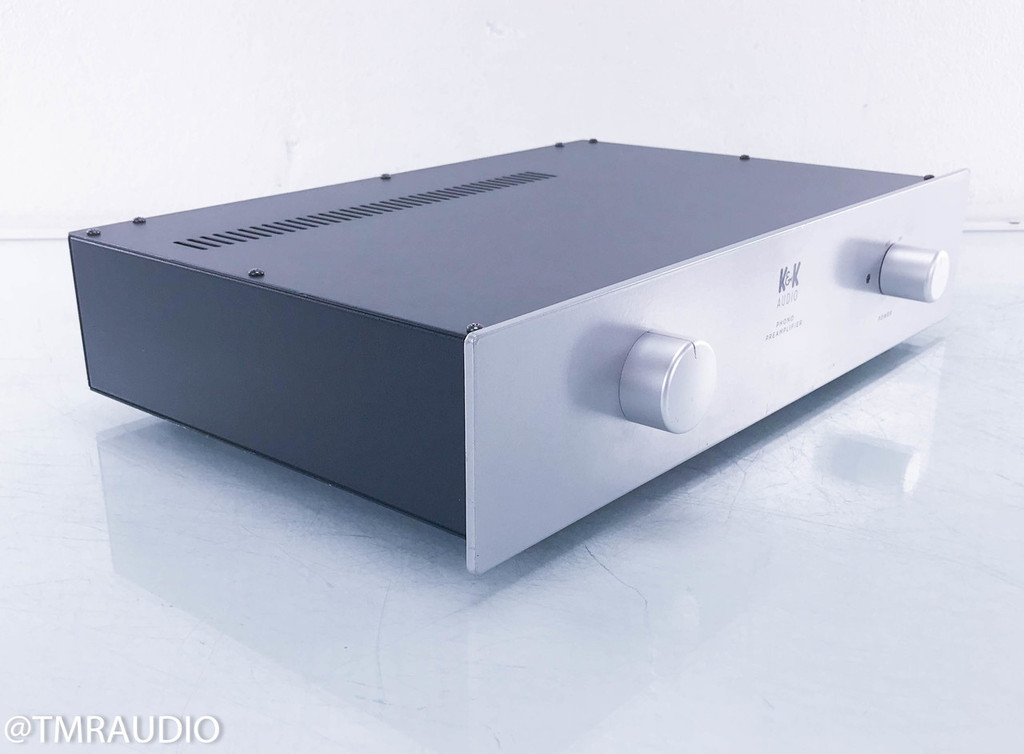 K&K Audio Maxxed-Out MM Phono Preamplifier; Factory Built w/ Upgrades