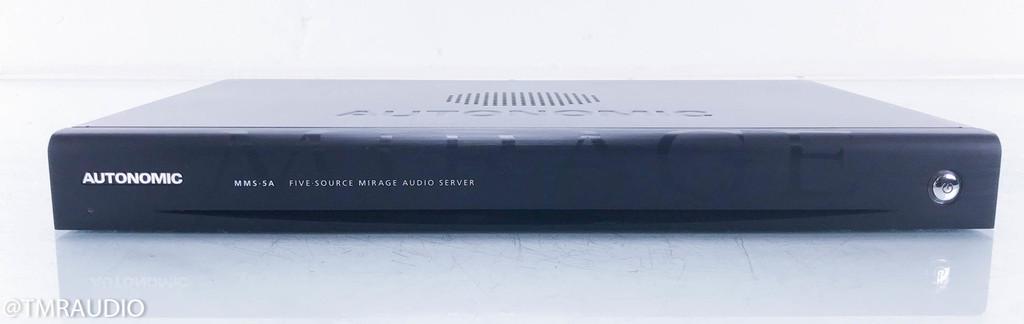 Autonomic Controls MMS-5A Mirage Music Server / Streamer; MMS5A; 1TB Storage