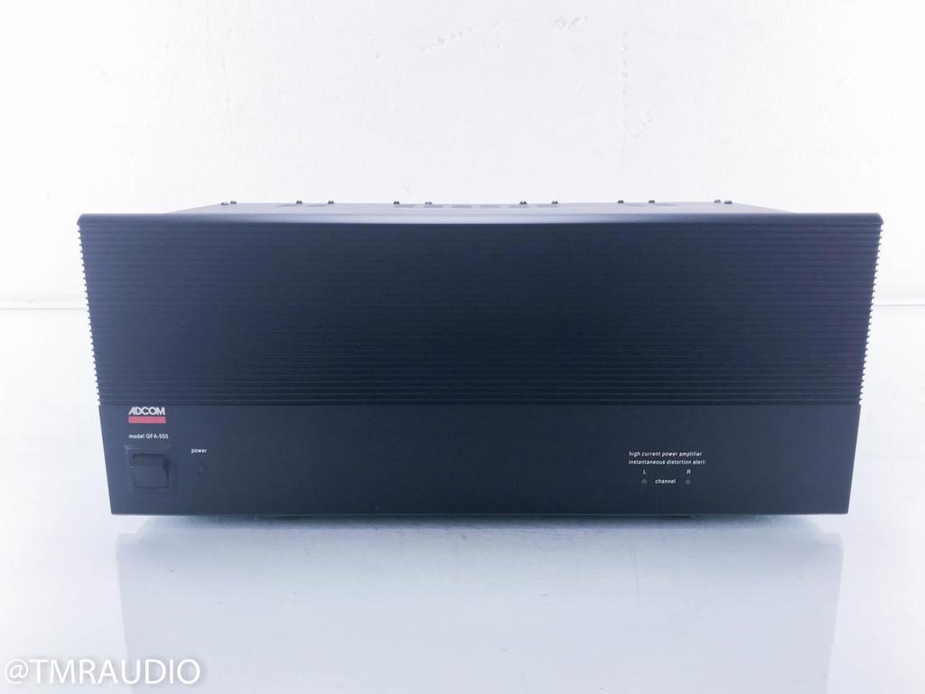Adcom GFA-555 Stereo Power Amplifier