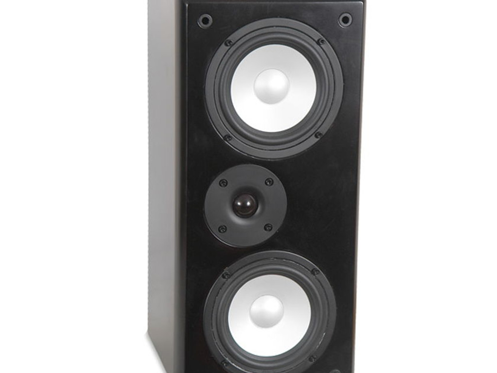 TruAudio CT-66A Center Channel Speaker; Black; Single LCR; (New Old Stock)