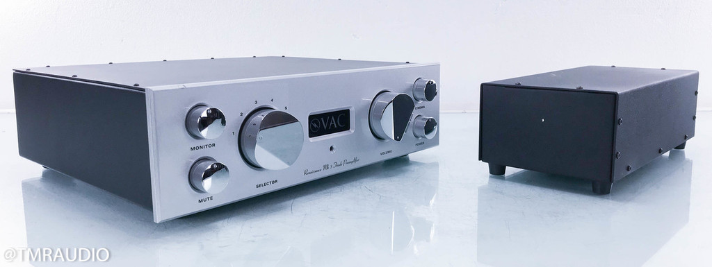 VAC Renaissance Mk. 3 Stereo Tube Preamplifier; MM/MC Phono