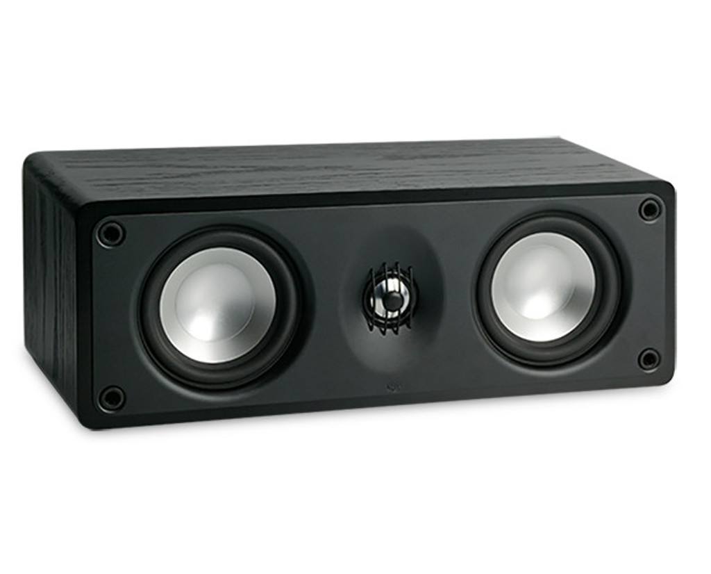 RBH MC414-C Center Channel Speaker; Single On-Wall LCR; Black (New / Old stock)