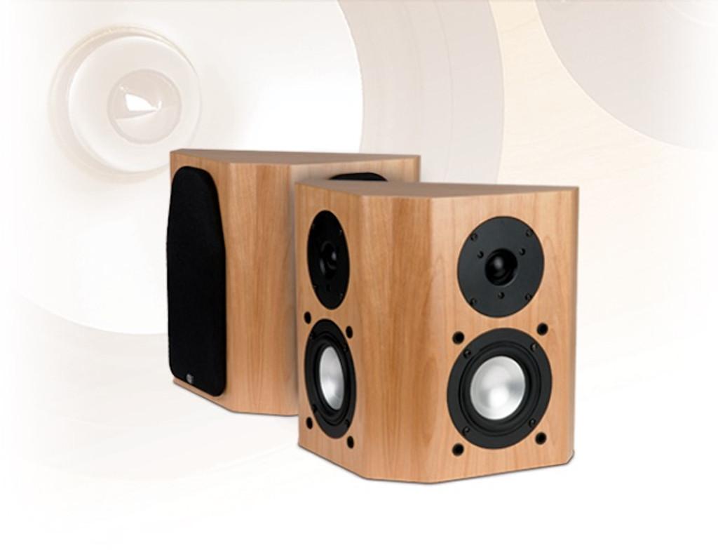 RBH 44-SE On-Wall Surround Speakers; Walnut Pair; Signature Classic 44SE (New)