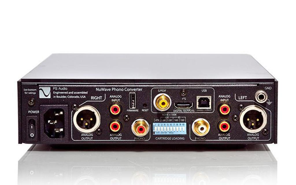 PS Audio NuWave Phono Converter; A/D Converter; A/D Converter; Black (New Old Stock)