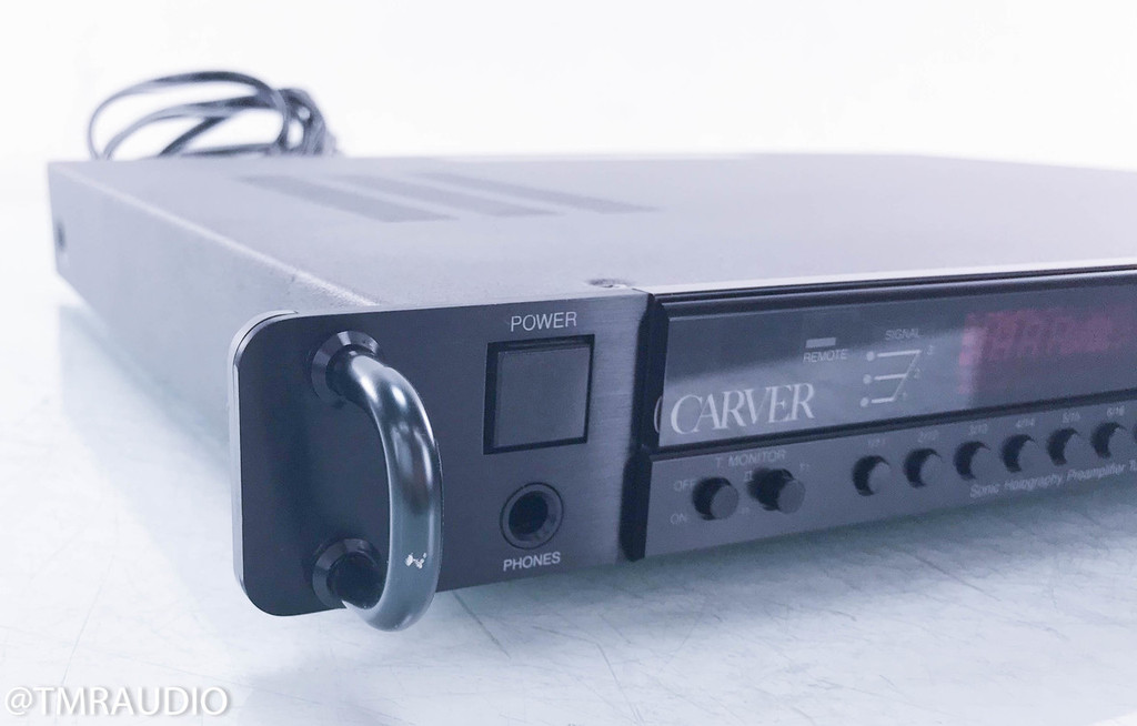 Carver CT-6 Stereo Preamplifier; CT6; Sonic Holography (No Remote)