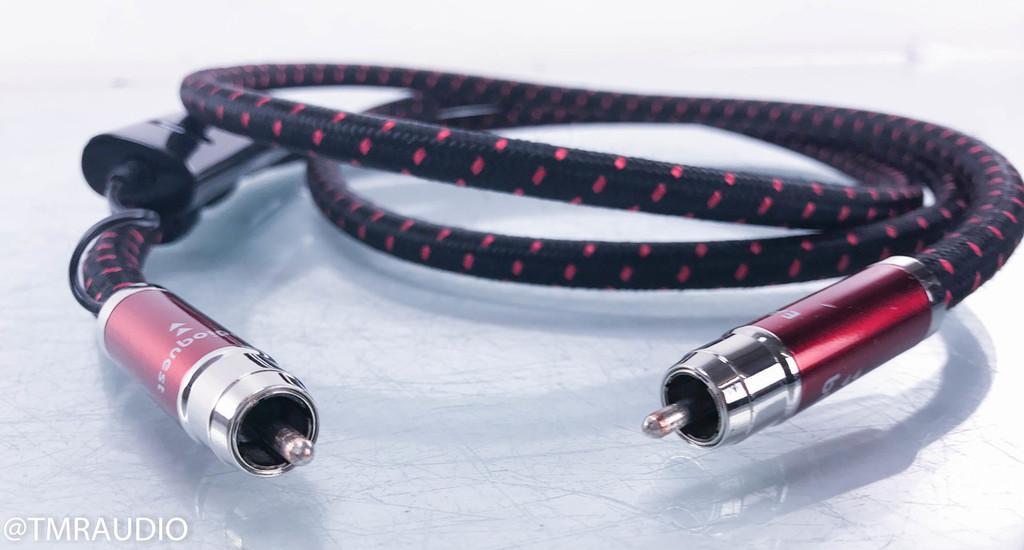 Audioquest Eagle Eye RCA Digital Coaxial Cable; 72v DBS; Single 2m Interconnect