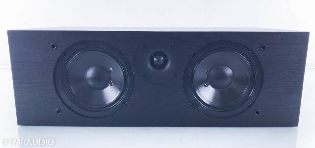Solus SC-626 LCR / Center Channel Speaker; Black Oak Vinyl; SC626 (Grill Pegs Broken)