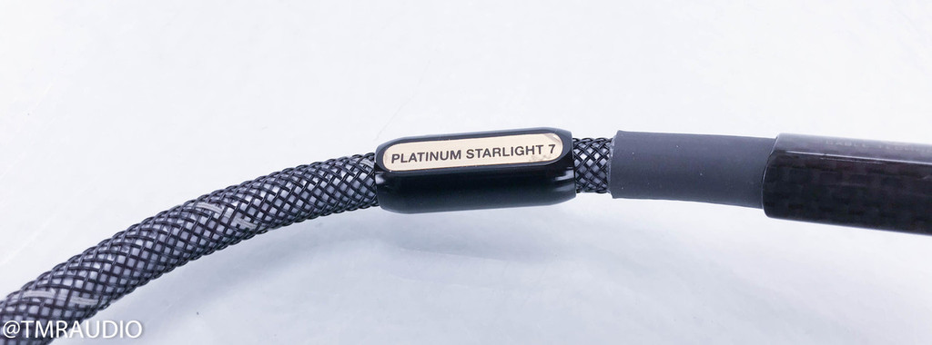 Wireworld Platinum Starlight 7 RCA Digital Coaxial Cable; Single 0.5m Interconnect; PSV0.5M