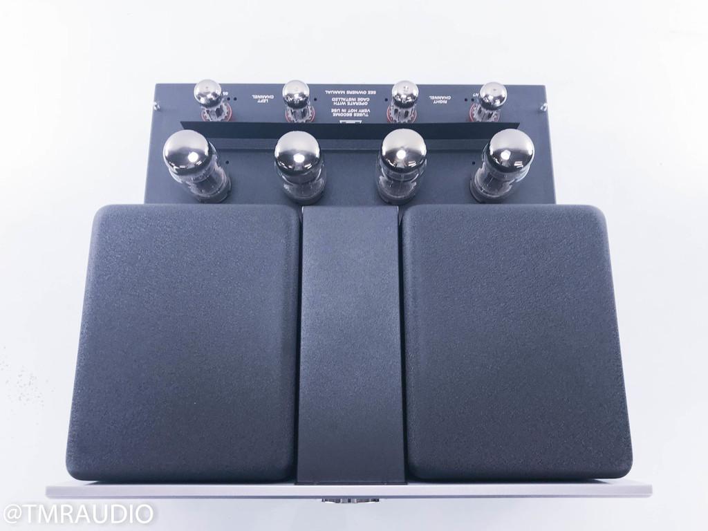 VAC Signature 200iQ Stereo Tube Power Amplifier; Custom Silver Finish