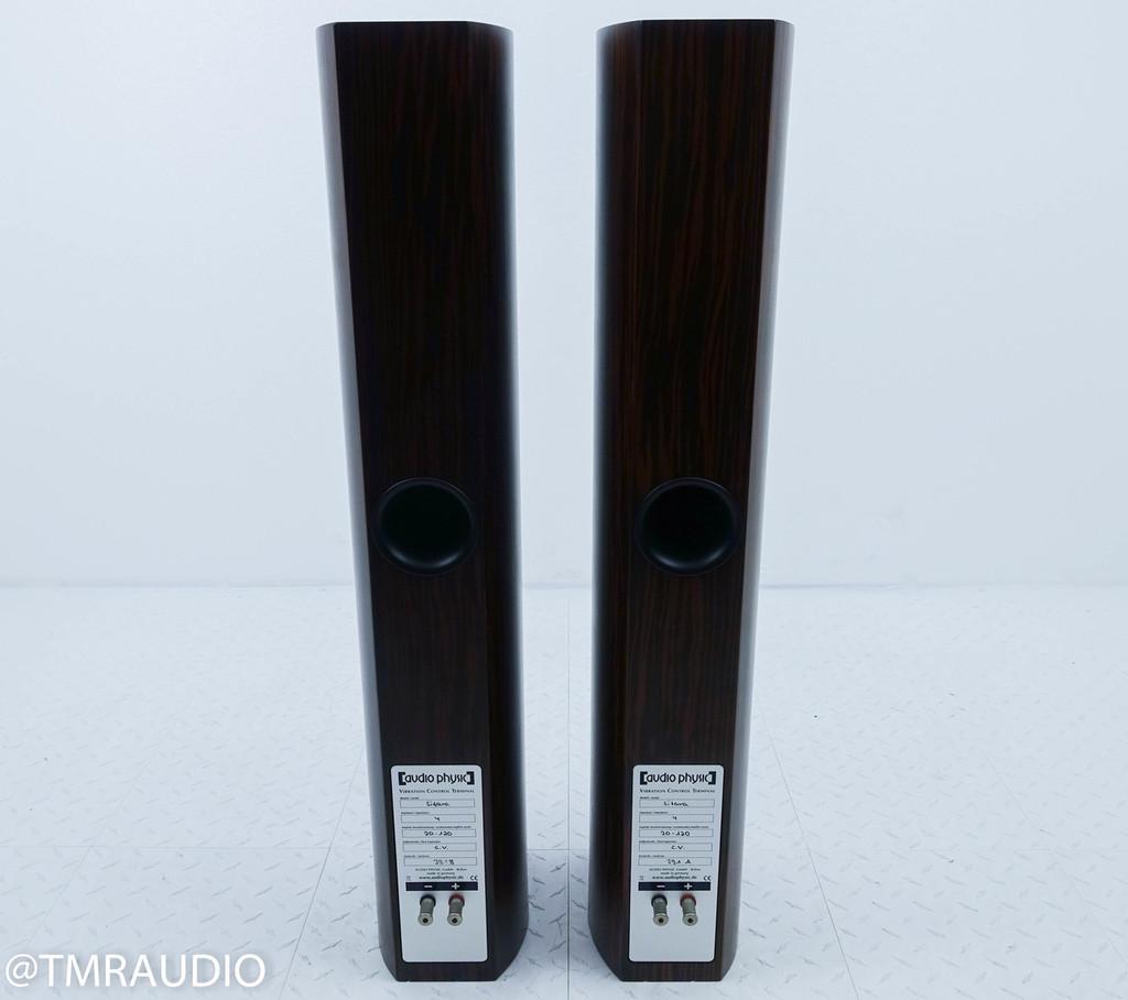 Audio Physic Sitara Floorstanding Speakers; Macassar Ebony Pair