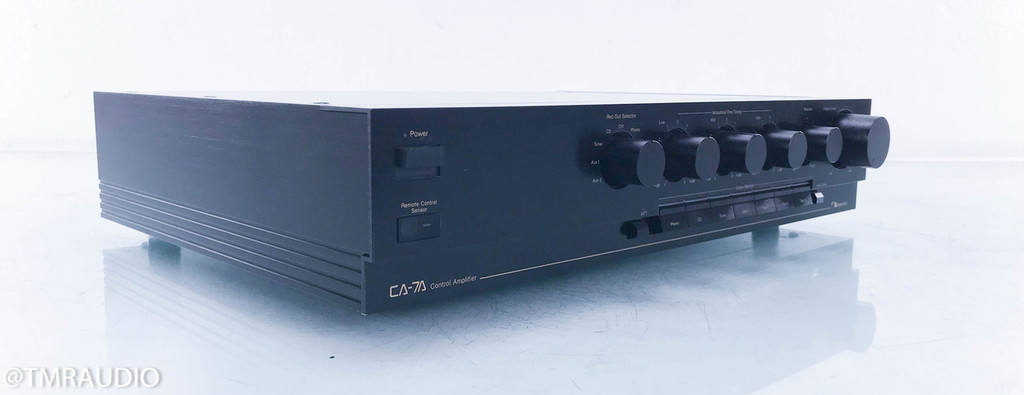Nakamichi CA-7A Stereo Preamplifier; CA7A (One Broken Output, No Remote)
