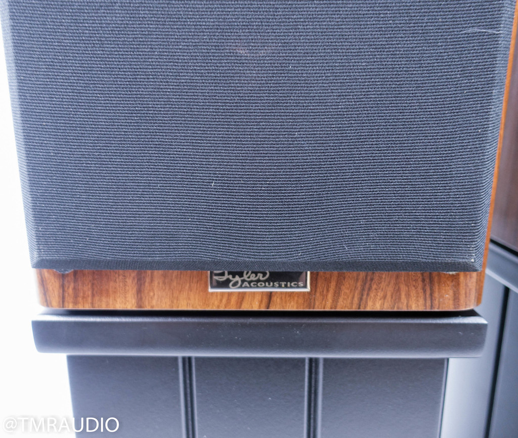 Tyler Acoustics Linbrook Signature Bookshelf Speakers; Rosewood Pair w/ Stands