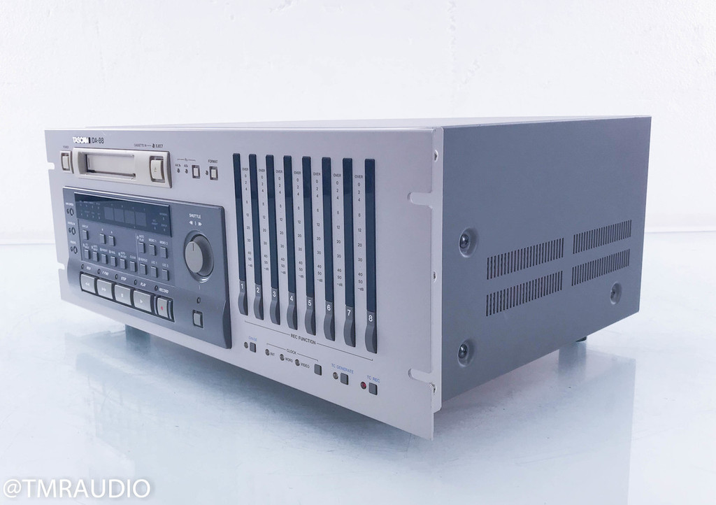 Tascam DA-88 Cassette Deck; Tape Recorder; DA88; AS-IS (Untested)