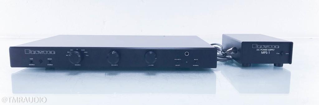 Bryston BP25 Stereo Preamplifier; Black (No Remote)