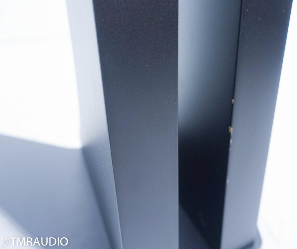 Sonus Faber Liuto Wood Bookshelf Speakers; Smoked Oak Pair w/ Stands