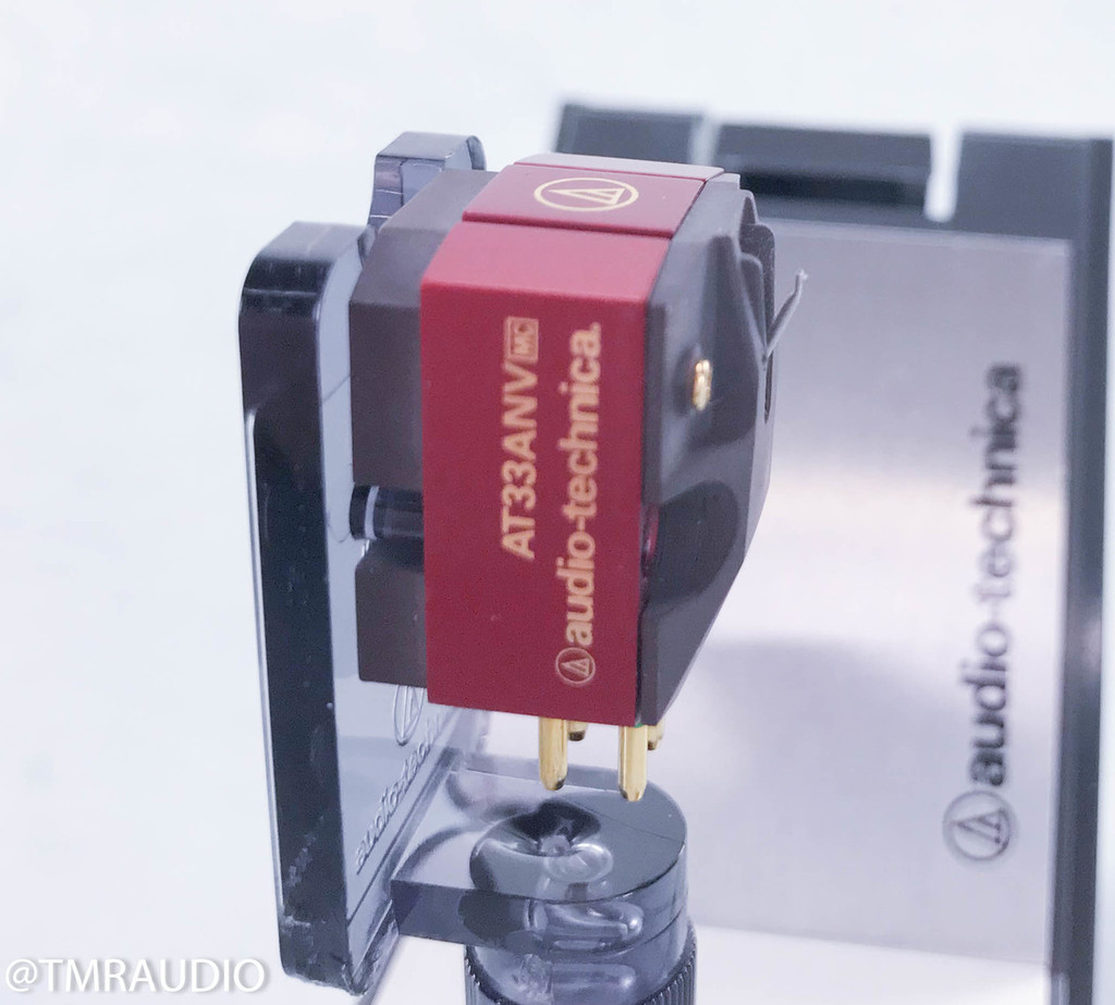 Audio-Technica AT33ANV MC Phono Cartridge; 45th Anniversary Edition; Moving Coil
