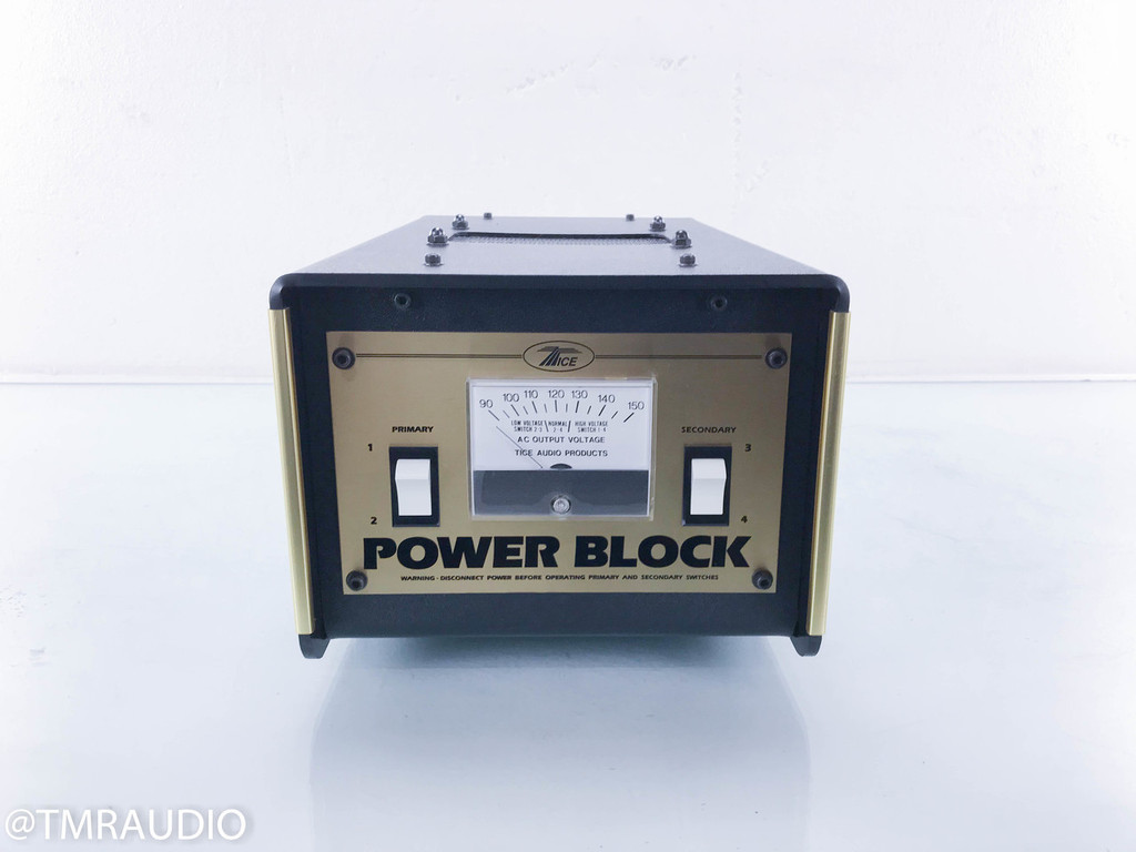 Tice Power Block AC Power Line Conditioner