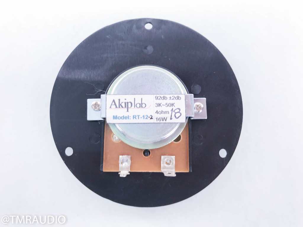 "Akip Lab 1"" Circular Ribbon Tweeter (New Old Stock)"
