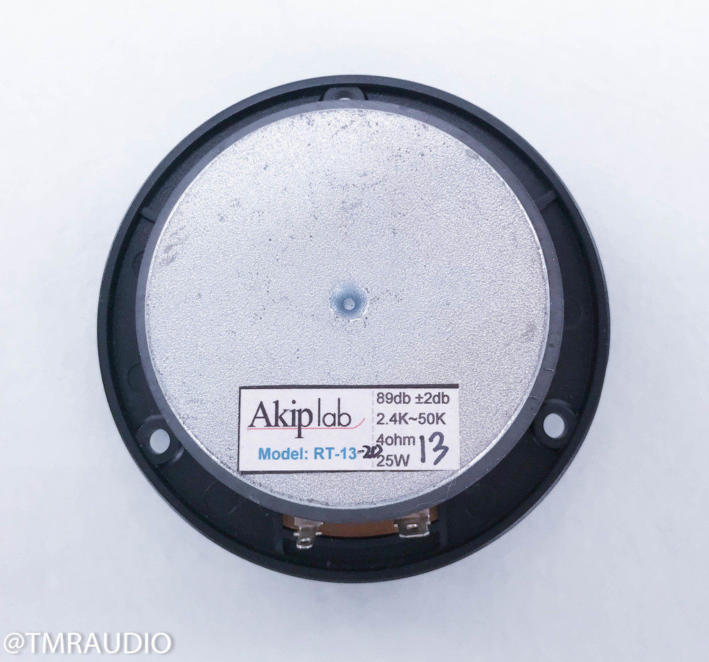 "Akip Lab 1"" Circular Ribbon Tweeter; RT-13 (New Old Stock)"