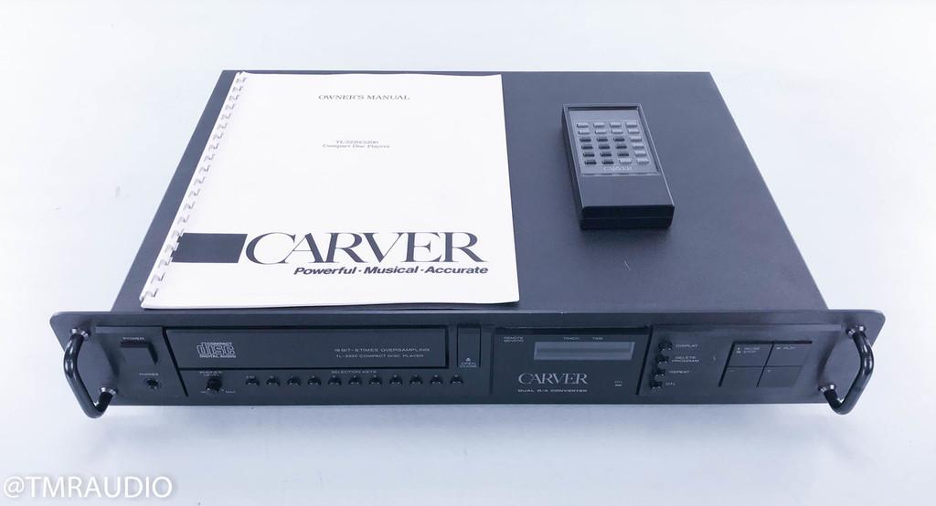 Carver TL-3220 Vintage CD Player; TL3220