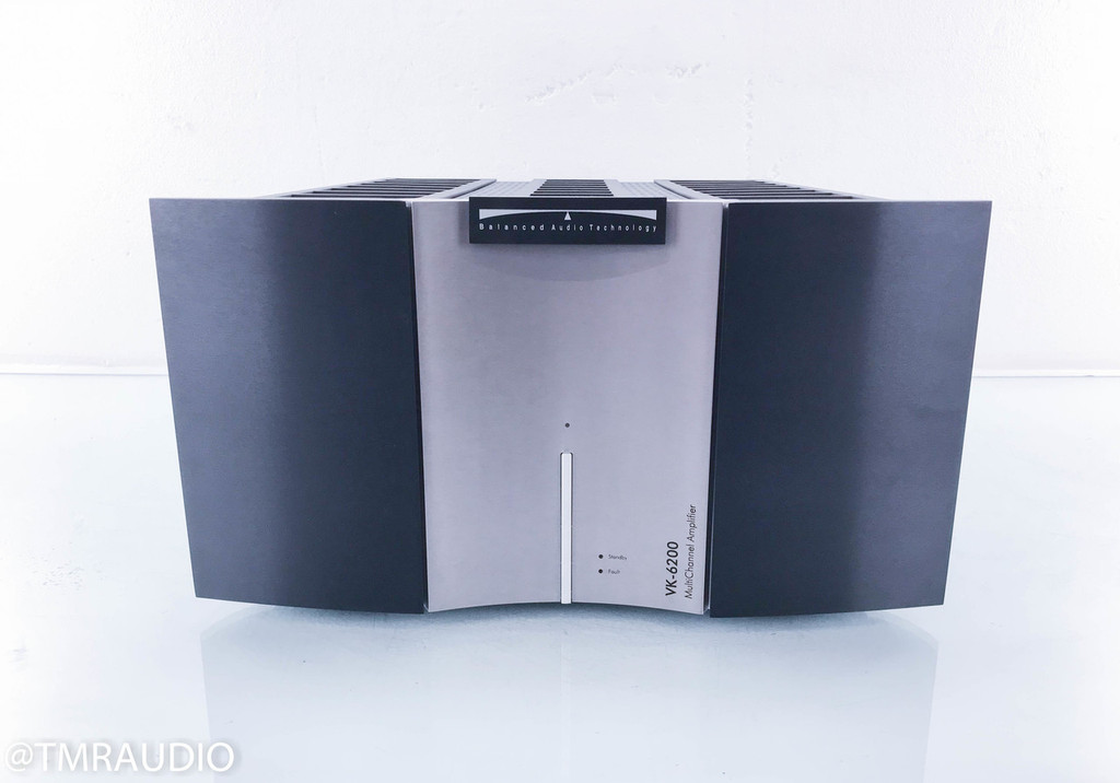 BAT VK-6200 Stereo Power Amplifier; VK6200; 2-Channel