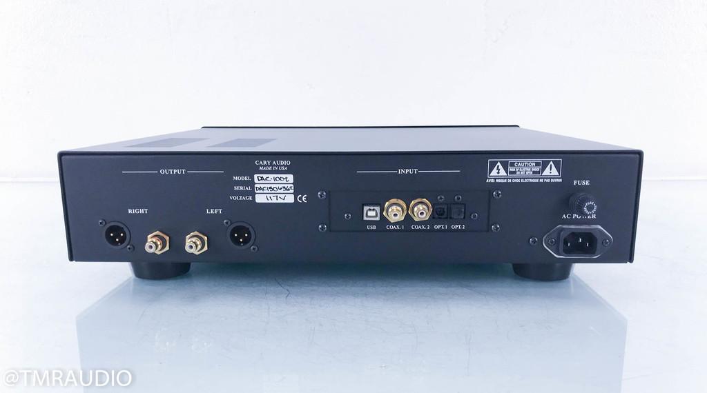 Cary DAC-100t Tube D/A Converter; DAC100t