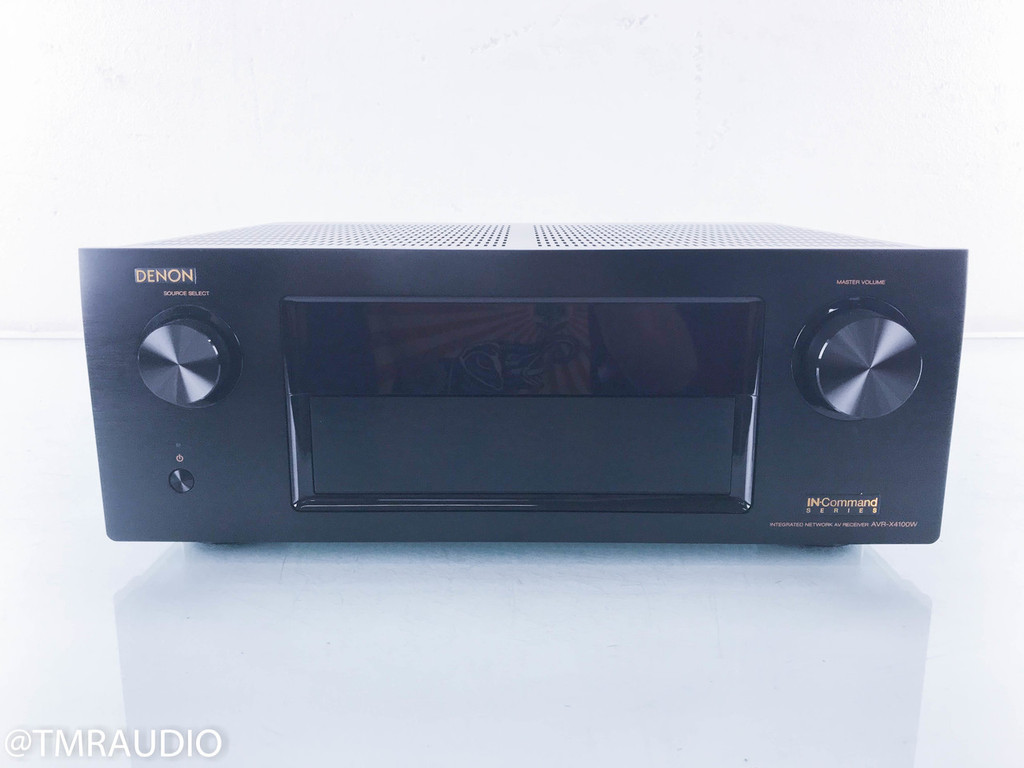 Denon AVR-X4100W 7.1.2 Channel Home Theater Receiver; 4K Ultra HD (No Remote)