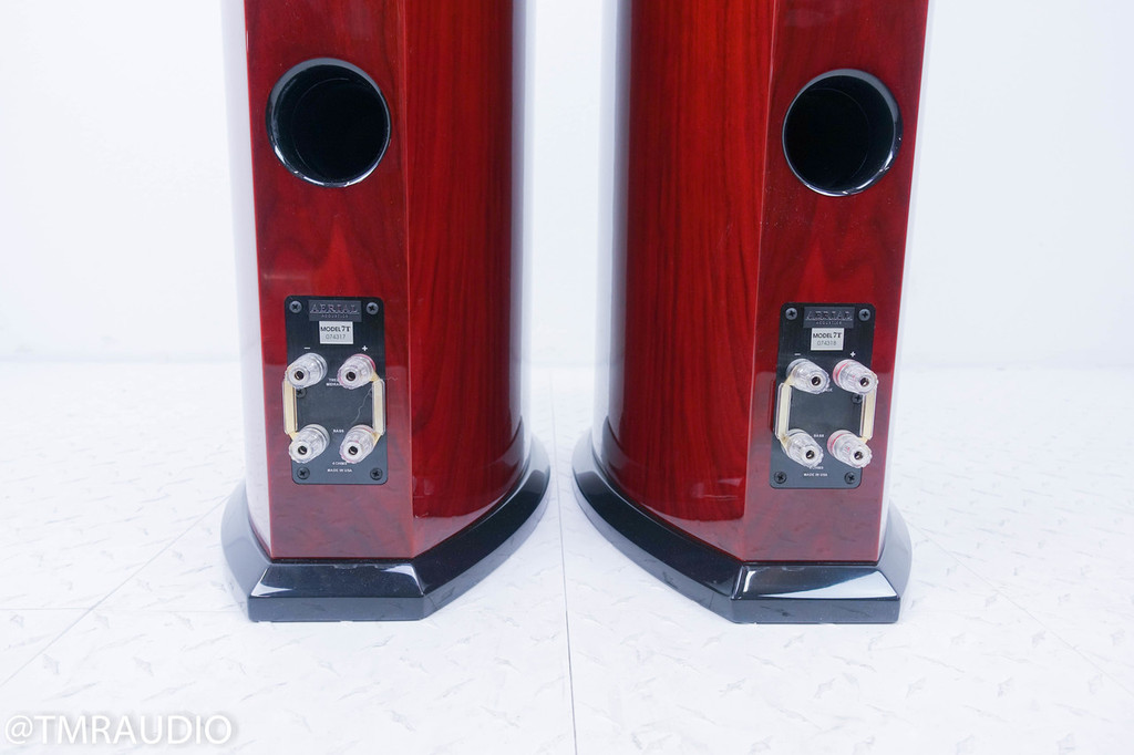 Aerial Acoustics 7T Floorstanding Speakers; Rosewood Pair