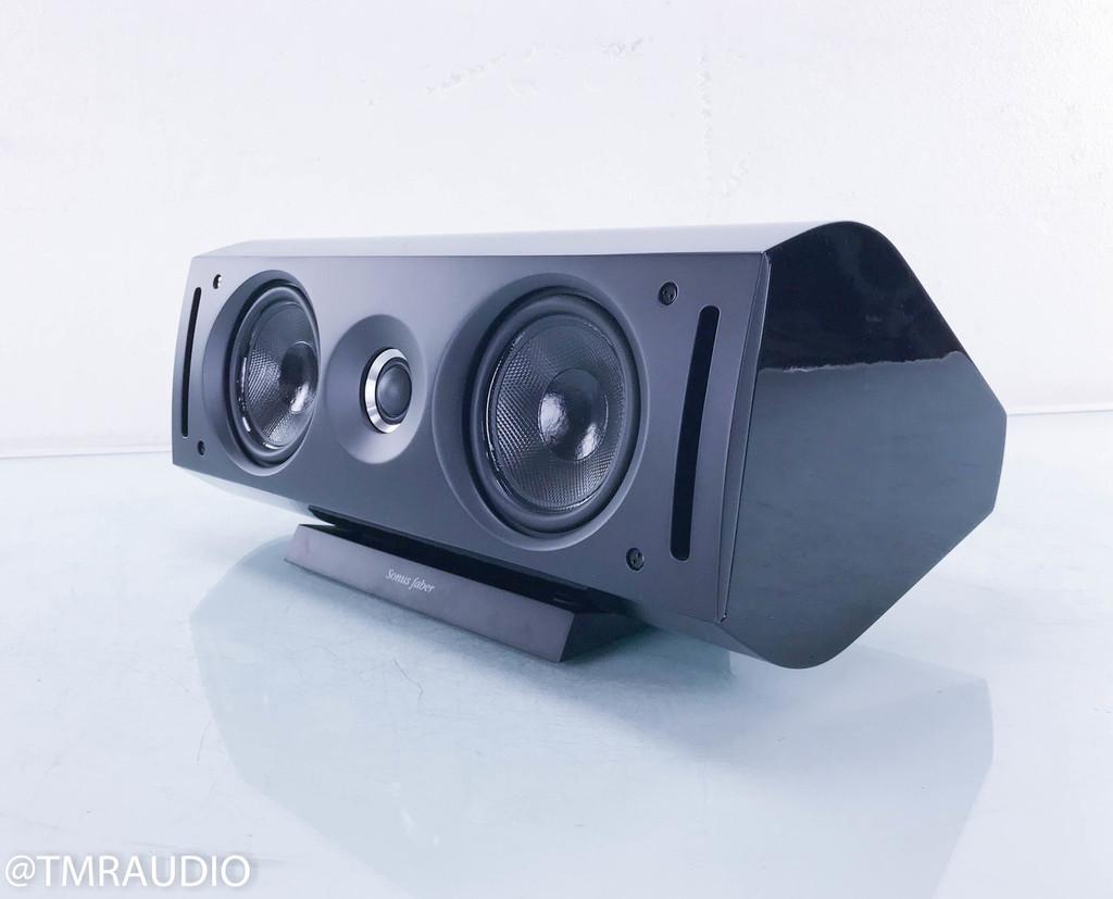 Sonus Faber Venere Center Channel Speaker; Black