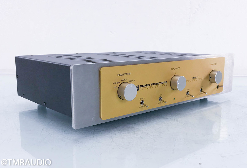 Sonic Frontiers SFL-1 Stereo Hybrid Tube Preamplifier